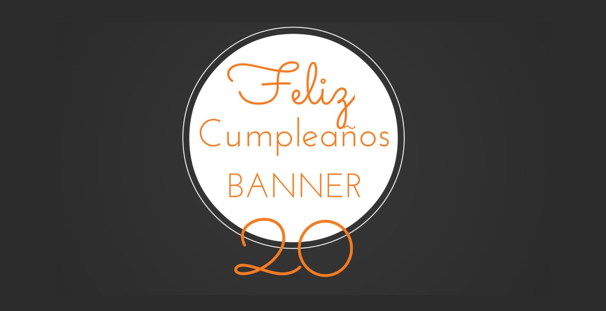 Banner Feliz Aniversario: ¡Feliz Aniversario Banner